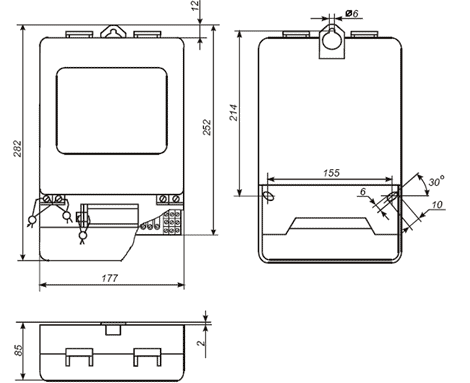Электросчетчик ЦЭ6850 - Продукция ...